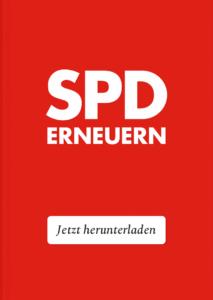 Cover des Buches: SPD Erneuern – von Erik Flügge