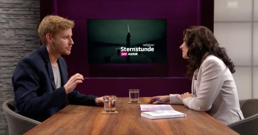 """Erik Flügge in der Sendung """"Sternstunde"""" vom SRF"""