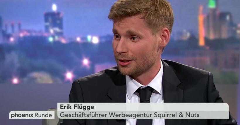 Erik Flügge in der Phoenix Runde
